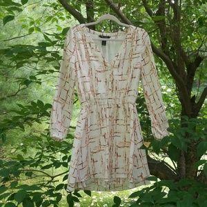 White House Black Market Long Sleeved Dress